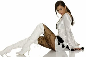 White boots for women